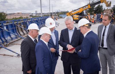 Сергей Собянин рассказал об этапах реконструкции Волгоградского шоссе