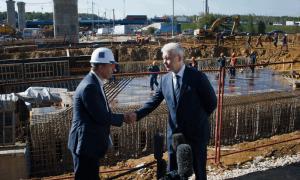 Сергей Собянин сообщил, что строительство Северо-Восточной хорды планируется закончить раньше запланированного срока