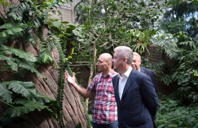 Новая оранжерея Ботанического сада откроется для посетителей осенью