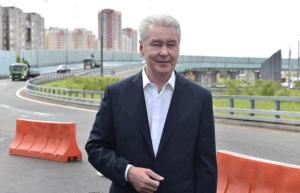 Сергей Собянин заявил о готовности развязки на пересечении Каширского шоссе и МКАД на 80%