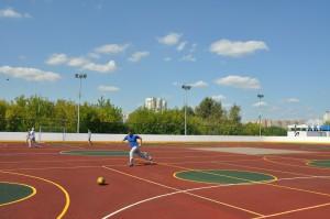 Новое футбольное поле появится в Каскадном парке Южного округа