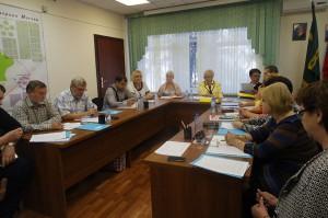 Были согласованы мероприятия на выполнение работ за счет средств стимулирования управы района за первое полугодие 2015 года