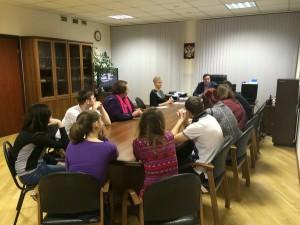 Встреча главы управы и молодежной палаты состоялась в района Бирюлево Восточное
