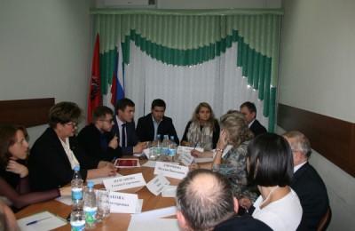 19 ноября состоялась встреча представителей Департамента транспорта Москвы и развития дорожно-транспортной инфраструктуры с советами депутатов двух муниципальных округов