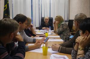 11 ноября состоялось заседание рабочей группы