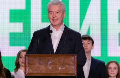 Мэр Москвы Сергей Собянин поддержал развитие проекта «Молодежный парламент»