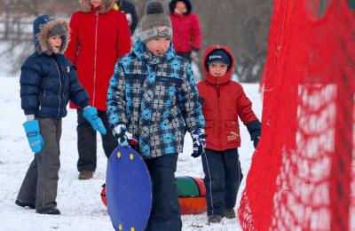 Опасные ситуации чаще всего возникают в зимние каникулярные дни