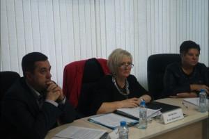 На заседании Совета депутатов муниципального округа Бирюлево Восточное выступила Елена Яковлева