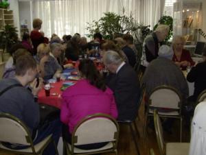 Встречу для людей старшего поколения организовали в районе Бирюлево Восточное