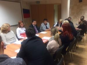 Молодежная палата района Бирюлево Восточное организовала круглый стол, посвящённый стандартам здравоохранения