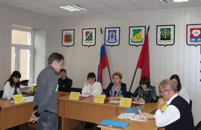 Заседание призывной комиссии в одном из районов Южного округа