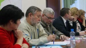 Депутат муниципального округа Бирюлево Восточное Евгений Бутов (на фото третий слева)