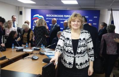 Валентина Поминова является руководителем исполкома районного отделения партии «Единая Россия»