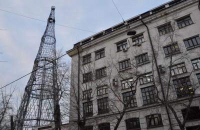 В ЮАО фактически завершены работы по укреплению Шуховской башни