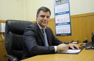 На фото начальник отделения объединенного отдела военного комиссариата по Царицынскому району ЮАО Павел Сорокопуд