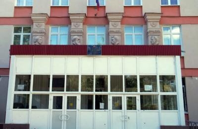 На фото школа №870 в районе Царицыно