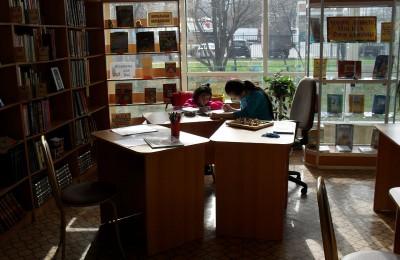 Сотрудники библиотеки №138 обозначили начало акции 1 апреля