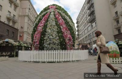 Свыше 200 ярмарочных шале будут работать на фестивале «Московская весна»