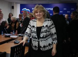 Депутат муниципального округа Бирюлево Восточное Валентина Поминова