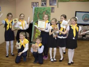 Литературная игра-квест для школьников прошла в библиотеке №140