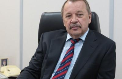 На фото префект Южного округа Алексей Челышев