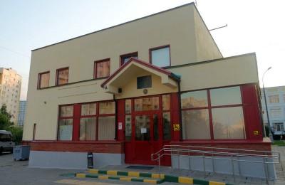 Одна из спортивных школ в районе Бирюлево Восточное