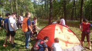 На территории Герценовского парка прошло военно-патриотическое мероприятие «Школа безопасности»