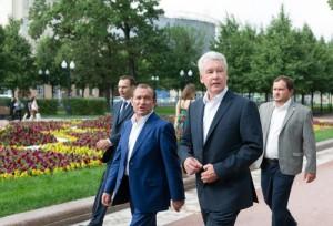 Москва получила 1,5 км новой набережной, по которой можно гулять, любоваться Москвой-рекой и отдыхать - Собянин