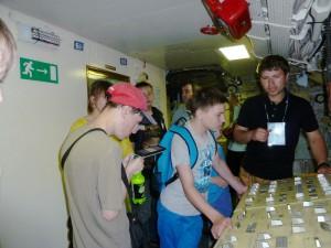 Дети ознакомились с историей подводной лодки