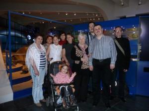 В апреле ребята посетили Московский планетарий