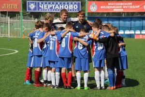 """Футболисты спортивной школы """"Чертаново"""""""