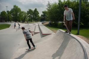 """Скейт-площадка в парке """"Садовники"""""""