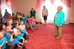 С Днем защиты детей воспитанников центра поздравила глава муниципального округа Бирюлево Восточное Елена Яковлева