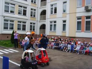Детям рассказали элементарные правила дорожного движения