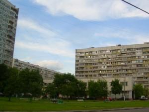 Двор в районе Бирюлево Восточное
