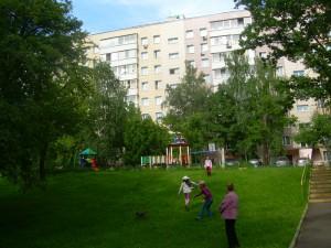 Территория жилой застройки в районе Бирюлево Восточное