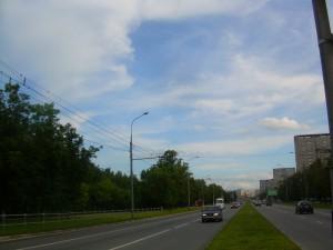 Улица в районе Бирюлево Восточное