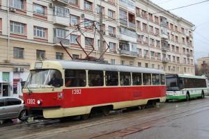 Трамвай №47 курсирует по маршруту от Нагатина до Новоданиловского проезда