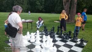 """Шахматный пикник в музее-заповеднике """"Царицыно"""""""