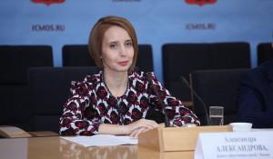 Председатель Комитета общественных связей Москвы Александра Александрова