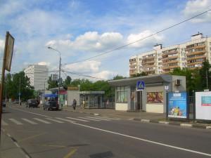 На одной из дорог в ЮАО Москвы