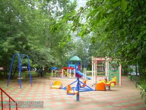 Новая детская площадка в районе Бирюлево Восточное