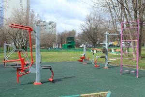 Спортивная площадка в районе Бирюлево Восточное