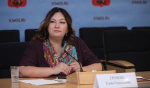 Директор ГБУ МФЦ Москвы Елена Громова