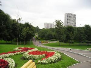Парк со стороны Чертановской