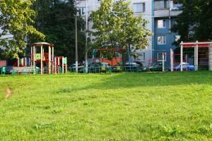 Детская площадка в районе Бирюлево Восточное