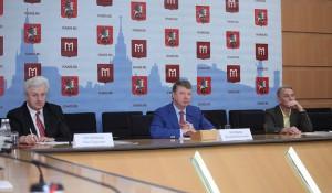 Глава Департамента национальной политики, межрегиональных связей и туризма Москвы Владимир Черников