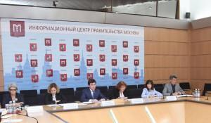 Пресс-конференция департаментов здравоохранения и образования Москвы