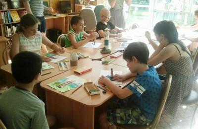 Мастер-класс в библиотеке №138