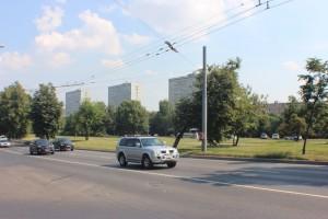 Проспект Андропова в районе Нагатино-Садовники